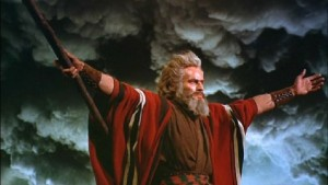 I had to use Charlton Heston at least once!