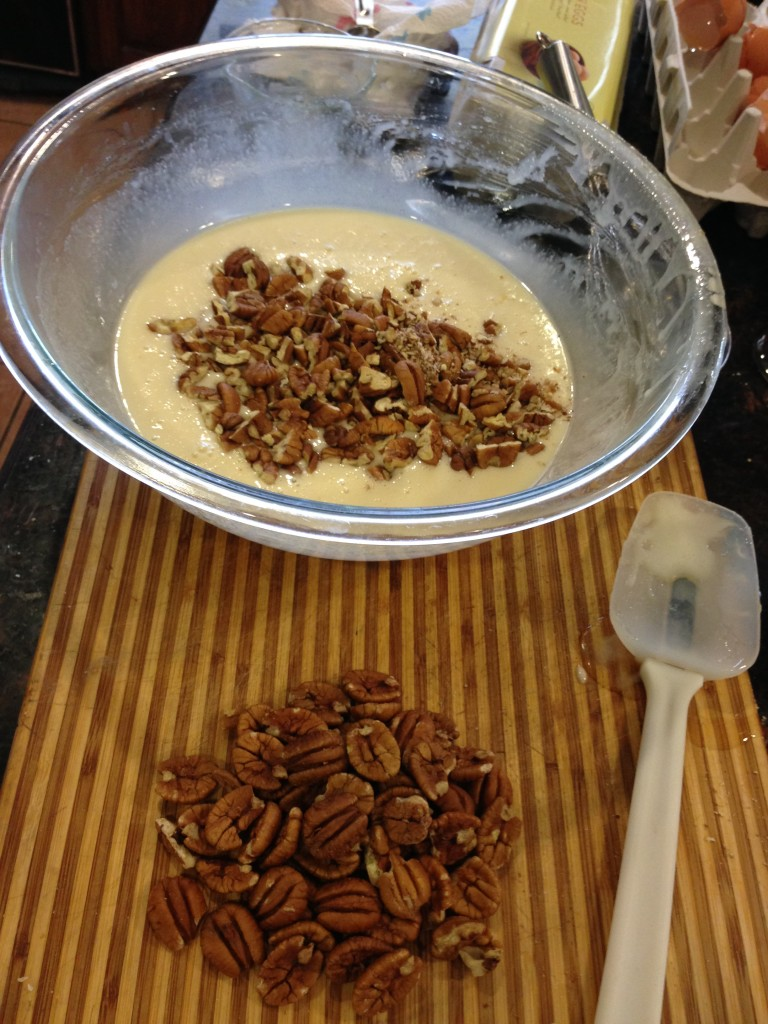 Pecans! Chopped or whole - however you like them.